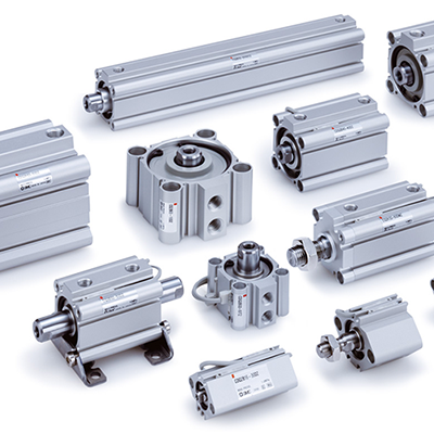 SMC pnumatic actuators