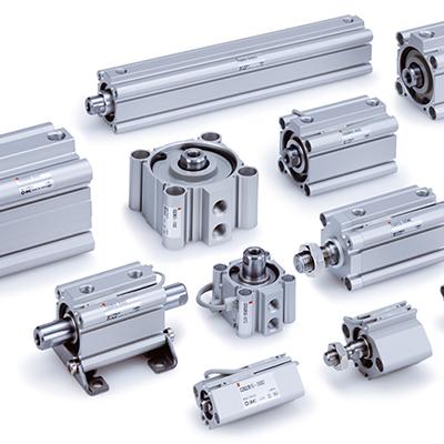 SMC pnumatic actuators