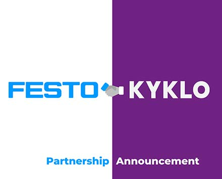 kyklo and festo partnership
