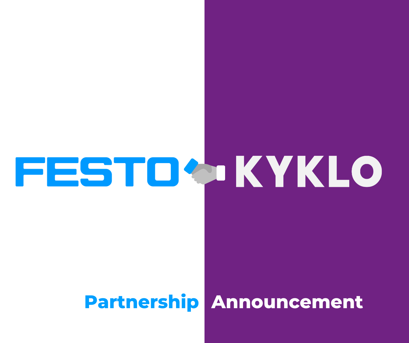 KYKLO and Festo Announce Mutual Agreement