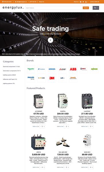 customisable online shop